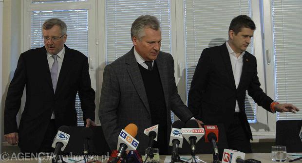 Marek Siwiec, Aleksander Kwa�niewski, Janusz Palikot, czyli Europa Plus
