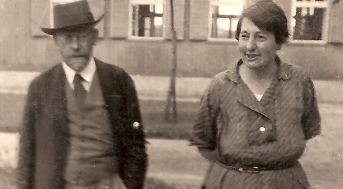 Stefania Wilczyńska i Janusz Korczak