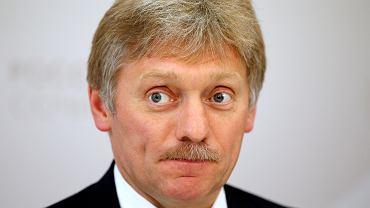 - Owszem, wpłynęło do nas pismo od Michaela Cohena - przyznał rzecznik Kremla Dmitrij Pieskow (na zdjęciu)
