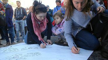 Wrocław popiera protest rodziców osób niepełnosprawnych w Sejmie