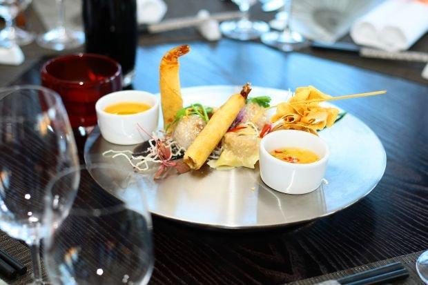 Przystawka z nowego menu restauracji InAzia