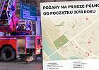 """Praga znowu płonie. W tym miesiącu było już 9 pożarów. """"Nie wierzę w przypadki. Ktoś na tym zyskuje"""""""