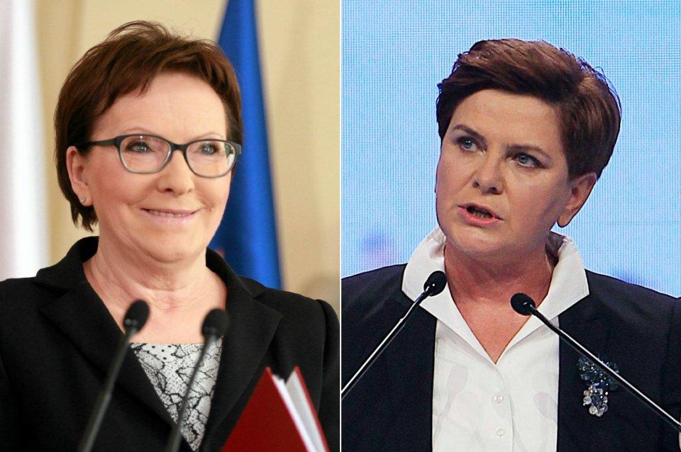 Ewa Kopacz, Beata Szydło