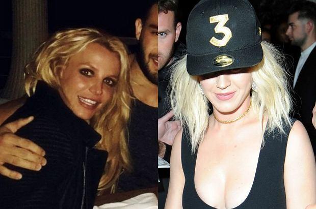 """Katy Perry podczas gali Grammy zażartowała z Britney Spears. Fanom nie spodobało się jej zachowanie. Teraz do """"żartu"""" odniosła się sama Britney."""
