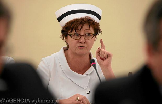 Mało pieniędzy, mało pielęgniarek. Reforma ministra Radziwiłła? Niczego nie poprawi - mówi Dorota Gardias