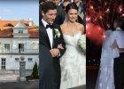 Suknia z kryszta�kami od Swarovskiego, pokaz sztucznych ogni i wesele w dworku. Najdro�sze �luby 2013 roku