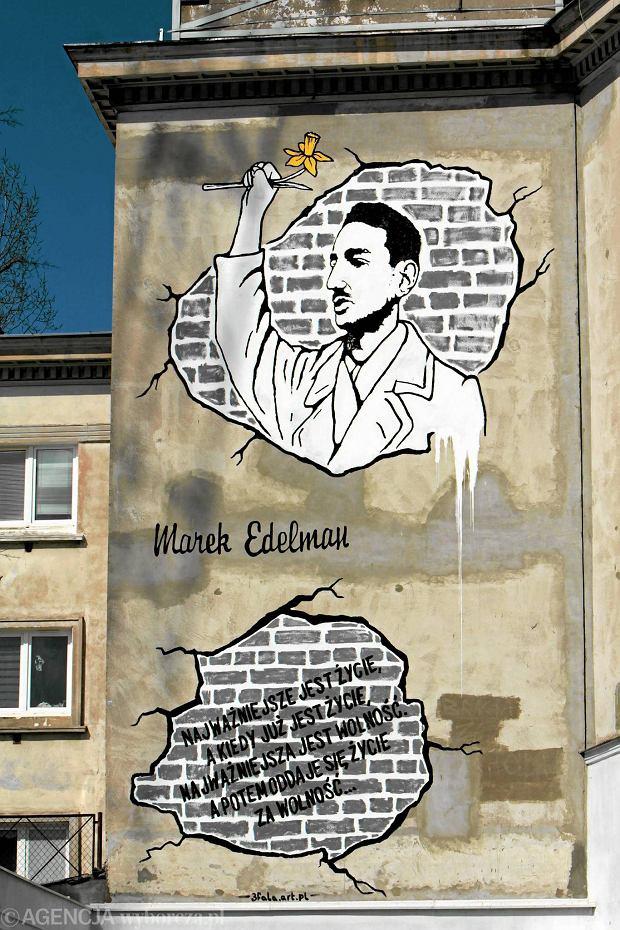 Zdj cie nr 3 w galerii zniknie mural z edelmanem i nie for Mural ursynow