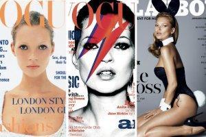Kate Moss sko�czy�a 41 lat! Zobacz jej 41 najlepszych ok�adek [ARCHIWALNE ZDJ�CIA]