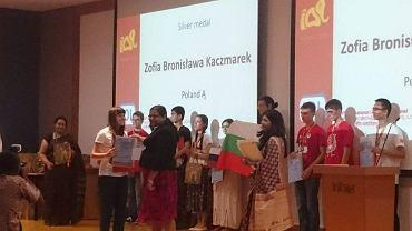 Wręczenie nagród na 14. Międzynarodowej Olimpiadzie Lingwistycznej