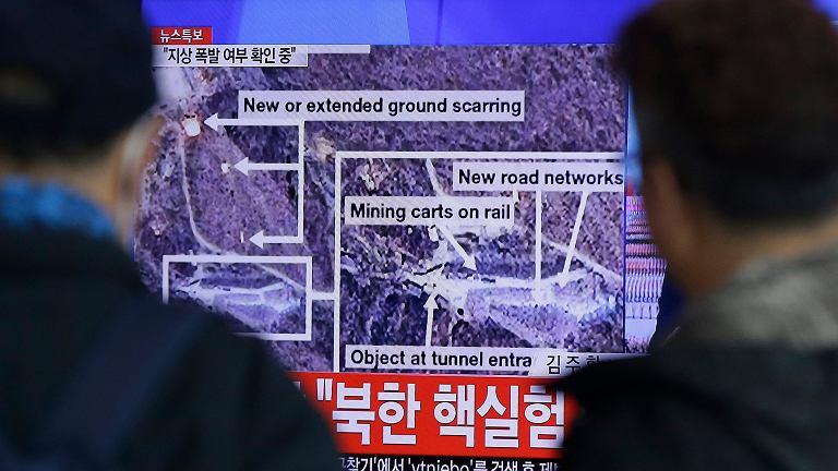 Rząd Korei Północnej ogłasza przeprowadzenie próby jądrowej