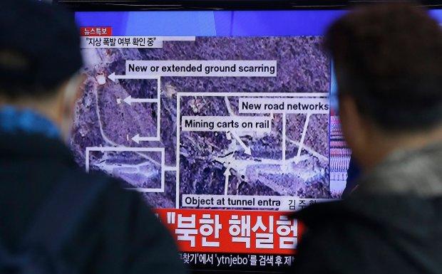 Rz�d Korei P�nocnej og�asza przeprowadzenie pr�by j�drowej