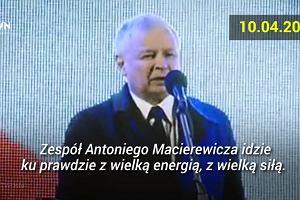 'Coraz bliżej prawdy'. Od 6 lat Jarosław Kaczyński na miesięcznicach smoleńskich powtarza prawie to samo