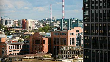 Panorama Łodzi. EC1, Nowe Centrum Łodzi