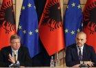 KE rekomenduje przyznanie Albanii statusu kandydata do UE