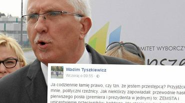 Wadim Tyszkiewicz broni Owsiaka. Mocno wygarn�� PiS-owi i Kaczy�skiemu
