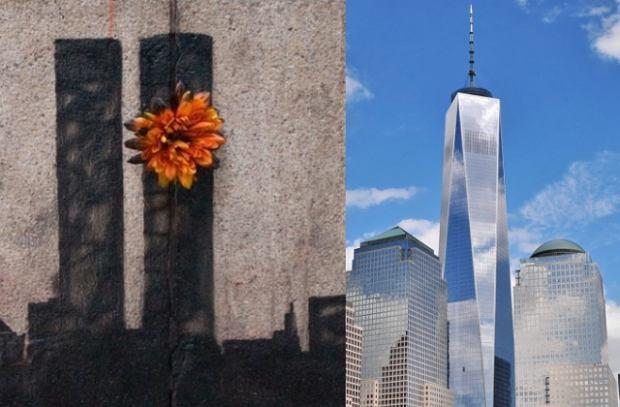 Praca Banksy'ego/One World Trade Center