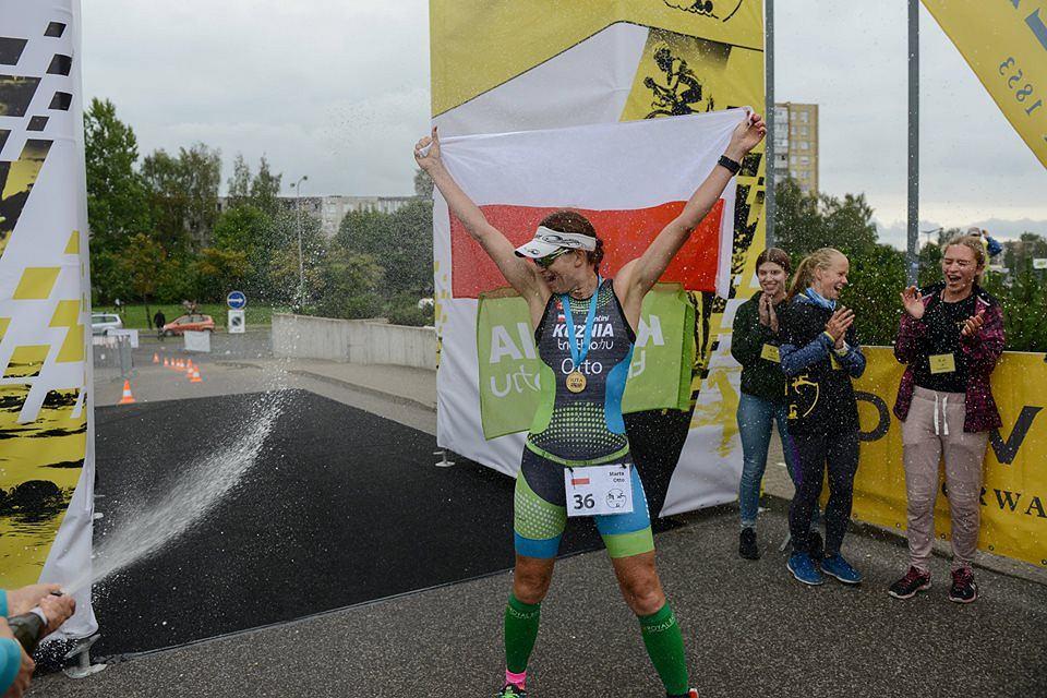 Marta Otto, pierwsza Polak w historii pokonała dystans double ironman