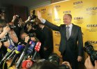 Milioner Kiska sprawi� lanie premierowi Ficy i b�dzie prezydentem S�owacji