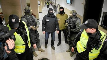2 lutego 2017. Posiedzenia aresztowe gangu wyłudzającego podatek VAT z udziałem byłych członków gangu pruszkowskiego