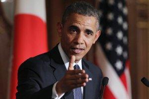 """Obama: Rosja nie powstrzyma�a """"nikczemnych, uzbrojonych ludzi"""" na Ukrainie. Nowe sankcje """"gotowe"""""""
