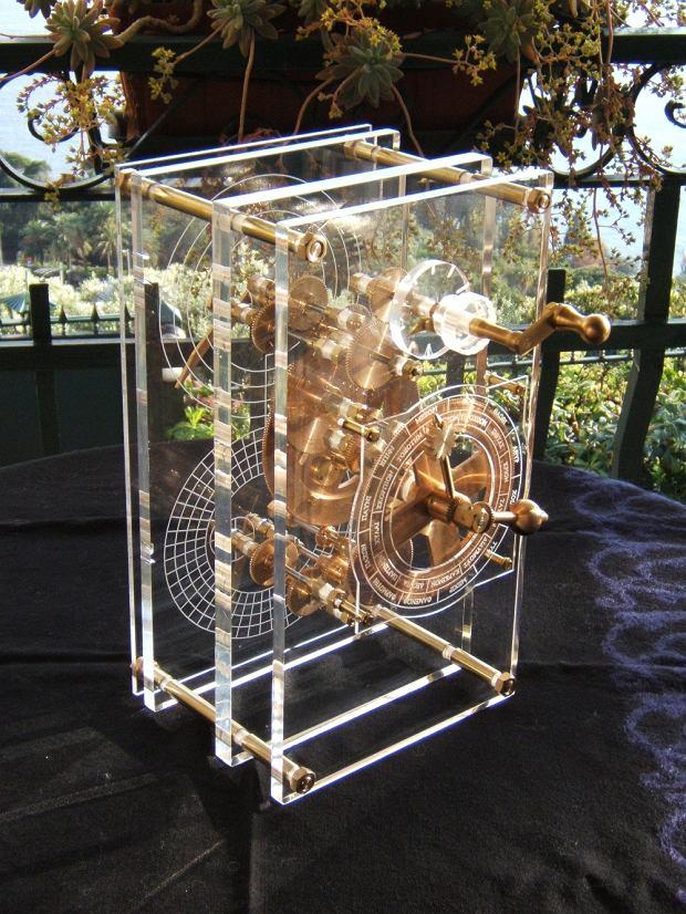 Zrekonstruowany mechanizm z Antykithiry