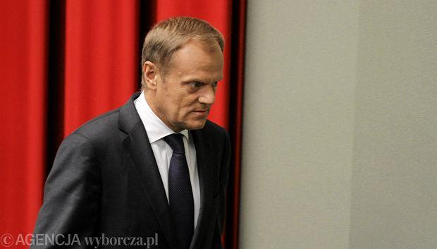 Premier Donald Tusk zadeklarował, że nie ma zamiaru objąć żadnego stanowiska w Brukseli