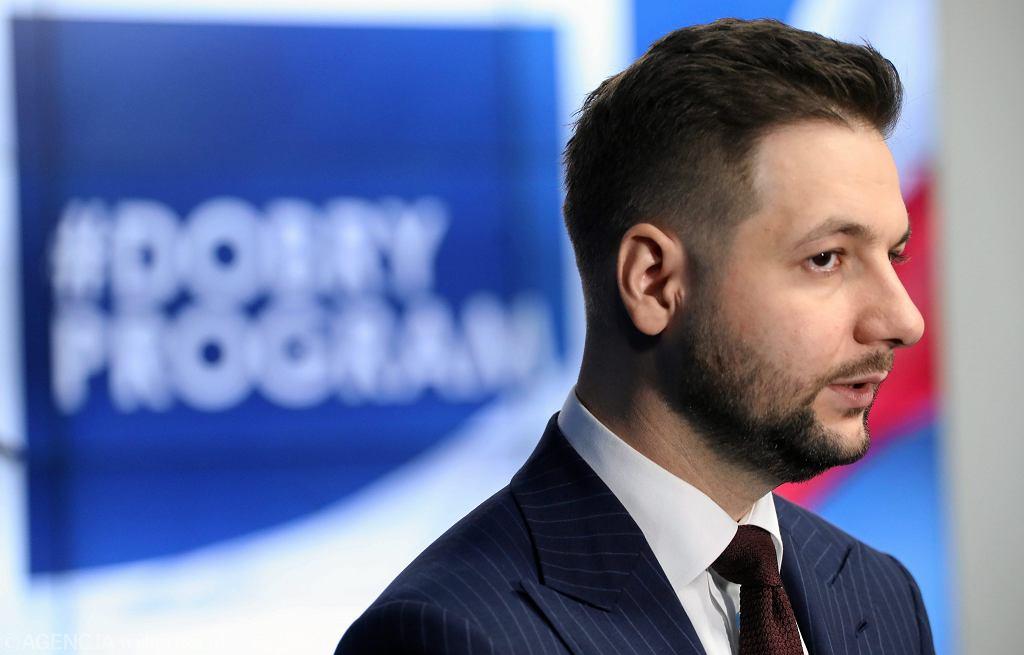 Kandydat PiS na prezydenta Warszawy Patryk Jaki