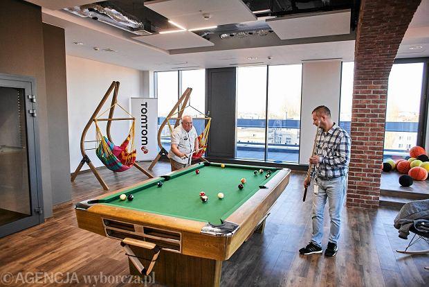Zdjęcie numer 0 w galerii - Nowy biurowiec TomTom gotowy. Całe piętro rozrywki [ZDJĘCIA]