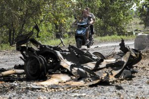 Ukrai�skie wojsko wesz�o do miast w pobli�u miejsca katastrofy malezyjskiego boeinga