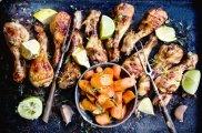 Kurczak cytrusowy z kardamonowymi marchewkami