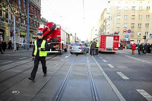 Zmar�a trzecia ofiara wypadku na Piotrkowskiej