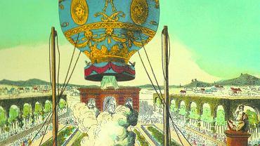 Pierwszy publiczny pokaz balonu braci Josepha i Jacques'a Montgolfierów został zorganizowany w Annonay w południowo-wschodniej Francji. Feliks Oraczewski nie był jego świadkiem, ale w listach twierdzi, że lot nie do końca się powiódł. Kilka tygodni później na własne oczy obserwował udany paryski lot balonu Jacques'a Charles'a.