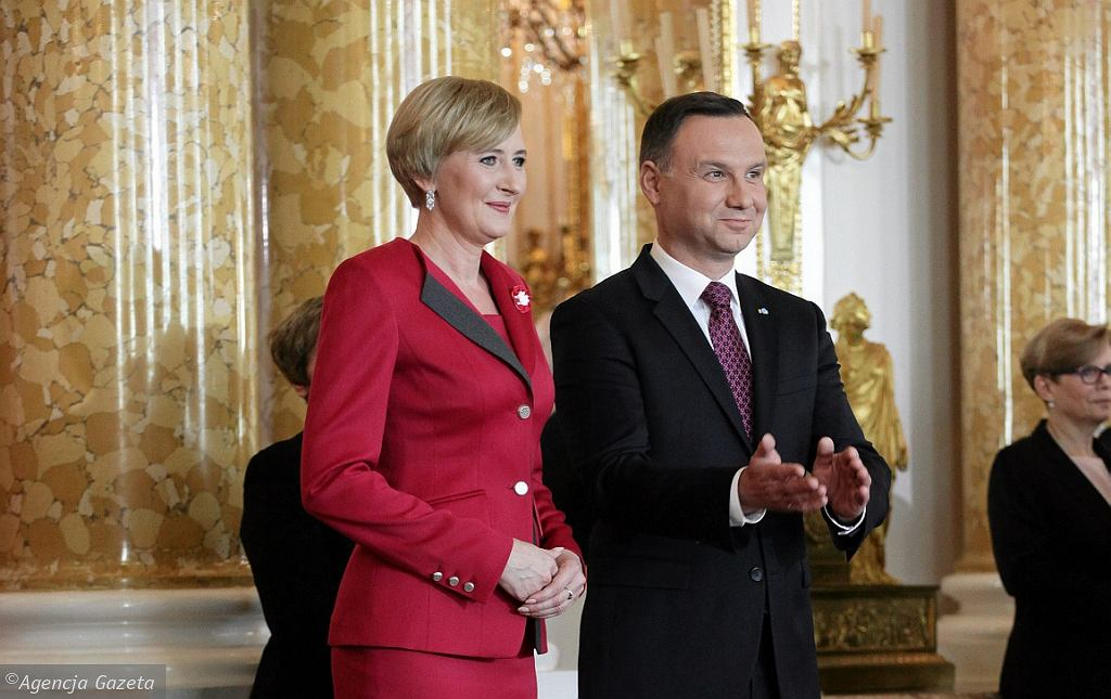 Polska Para Prezydencka - Andrzej i Agata Duda (fot. Sławomir Kamiński/AG)