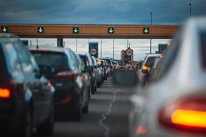 Bramki przy wiezdzie na autostrade A1