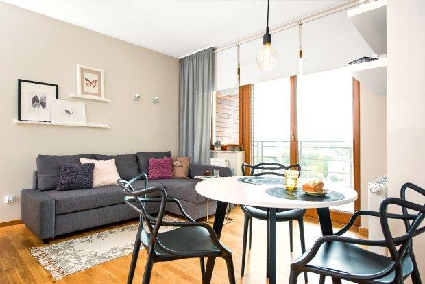 35-metrowe mieszkanie: uda�o si� wydzieli� osobn� sypialni�