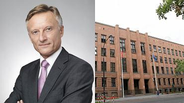 Marek Prawda (z prawej siedziba MSZ)