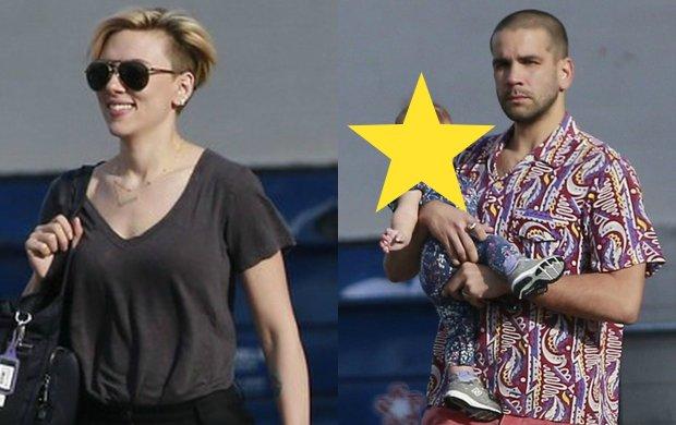 D�ugo trzeba by�o czeka� na takie zdj�cia! Scarlett Johansson pierwszy raz z m�em i z p�roczn� c�rk�: Jest doskona�a, ale inna ni� sobie wyobra�a�am