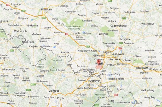 Wypadek motolotni w Rybniku. Zgin�li dwaj m�czy�ni