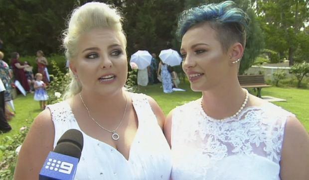 Sluby par jednoplciowych w Australii