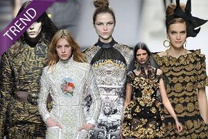 Trendy jesie� 2012 - Barok dla podkre�lenia kobiecej sylwetki