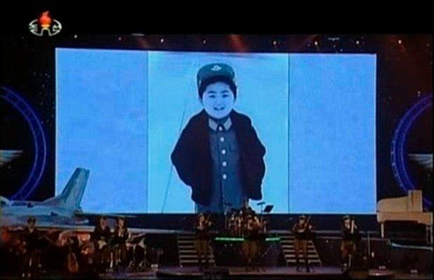Zdjęcie Kim Dzong Una z czasów dzieciństwa