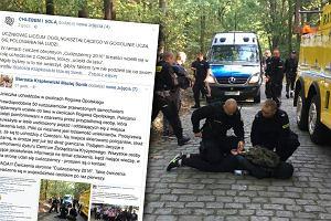 Kazali licealistom udawać uchodźców, a prawdziwe służby ganiały ich po lesie. Skandaliczne ćwiczenia w Rogowie
