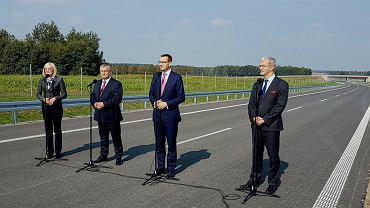 Mateusz Morawiecki otworzył odcinek drogi S3