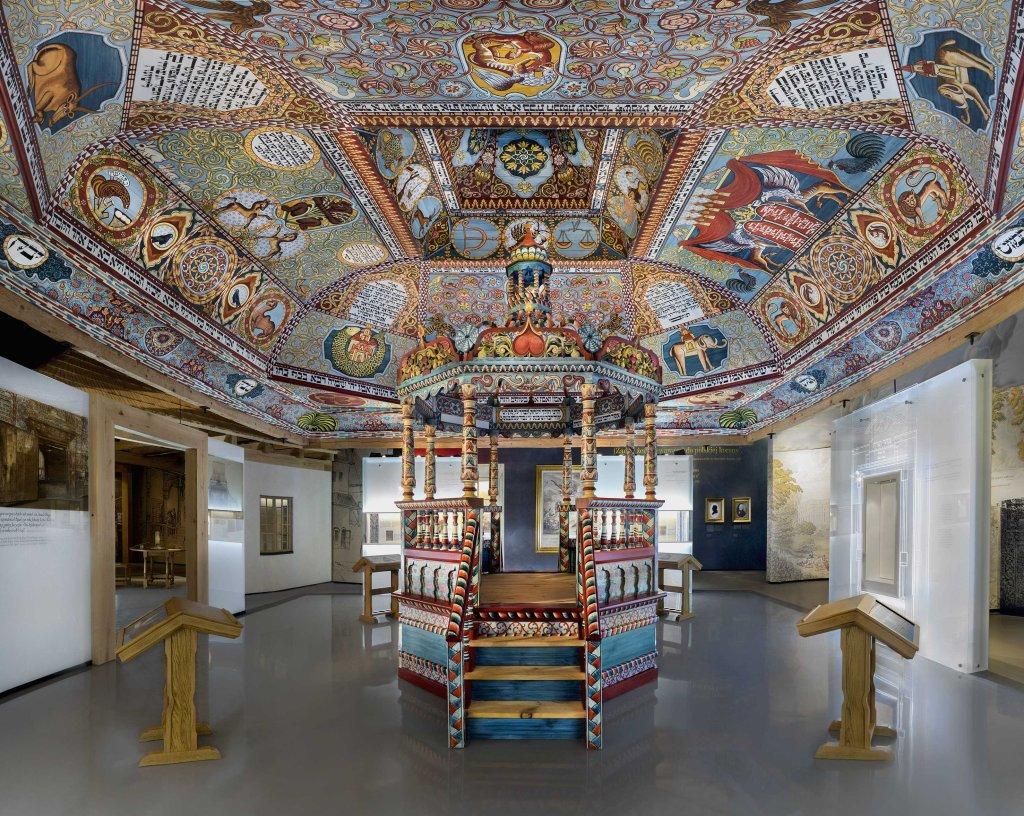 Galeria Miasteczko / Fot. M. Starowieyska, D. Golik / Muzeum Historii Żydów Polskich Polin