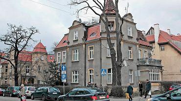 Willa przy ul. Krasińskiego - tu znajduje się mieszkanie, które stało się przedmiotem wymiany