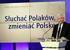 Kaczy�ski: B�d� s�u�y� Polsce, p�ki starczy si�. Do 2023 r. mo�e do 2027? Wszystko w r�kach Boga