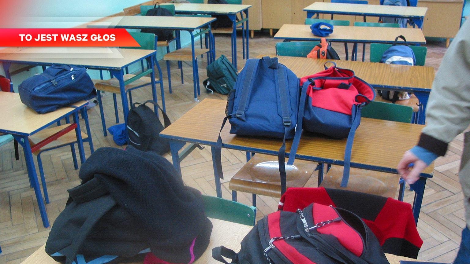 13ba45085771a 'Plecak mojego syna w 7 klasie waży średnio 7 kg. Potrafi więcej. Hucpa  polityczna kosztem dzieci.'