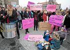 """""""Dobra zmiana"""" w TVP Pozna�. Jest protest przeciwko zakazowi aborcji, musi by� pose� PiS"""