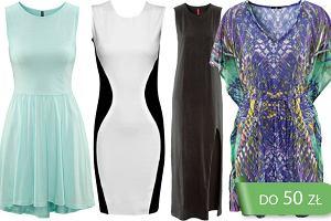 Sukienki do 50 zł - 70 propozycji