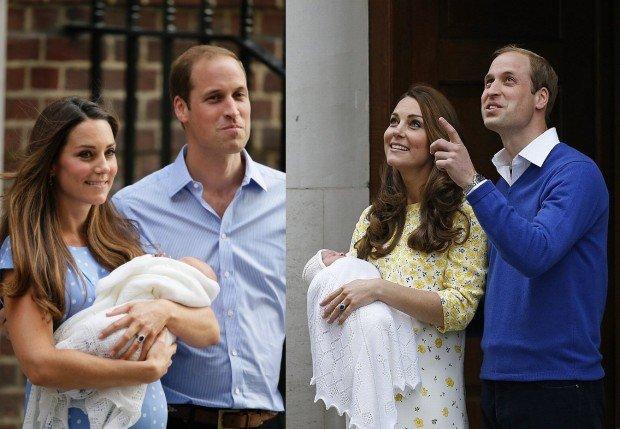Kate i William z dziećmi